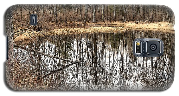 Galaxy S5 Case featuring the photograph Bare Bones by Betsy Zimmerli