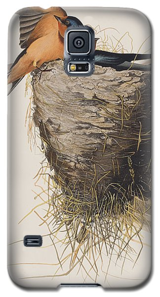 Barn Swallow Galaxy S5 Case by John James Audubon