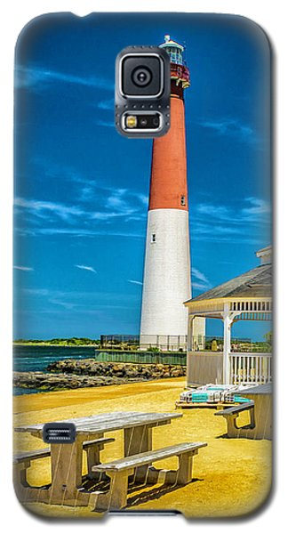 Galaxy S5 Case featuring the photograph Barnegat Lighthouse Park by Nick Zelinsky