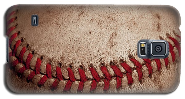 Galaxy S5 Case featuring the photograph Baseball Seams by David Patterson