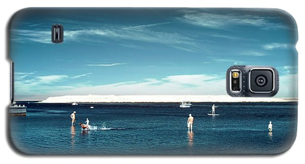 Galaxy S5 Case featuring the photograph Beach Haven Blues by John Rizzuto