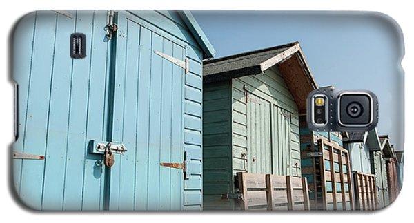 Beach Huts Vi Galaxy S5 Case