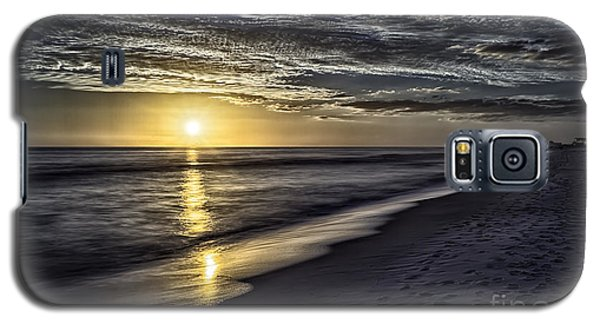 Beach Sunset 1021b Galaxy S5 Case