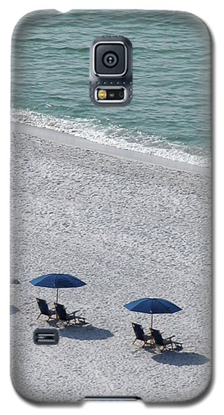 Galaxy S5 Case featuring the photograph Beach Therapy 1 by Marie Hicks