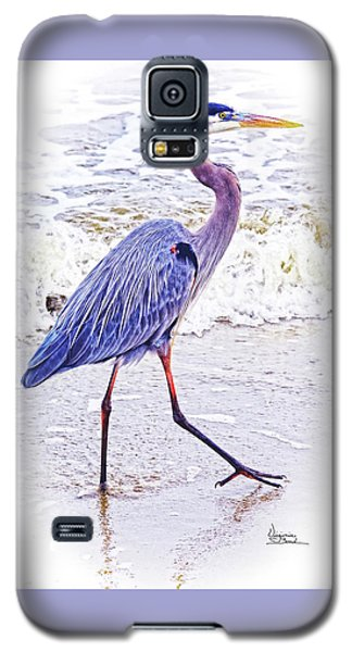 Beach Walker Galaxy S5 Case