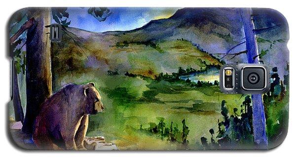 Bearly Light At Castle Peak Galaxy S5 Case