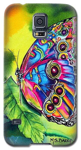 Beatrice Butterfly Galaxy S5 Case