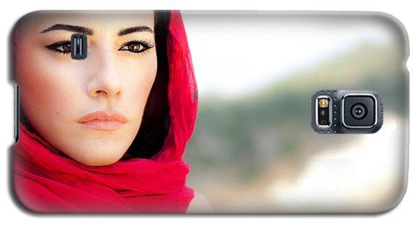 Beautiful Arabic Woman Galaxy S5 Case