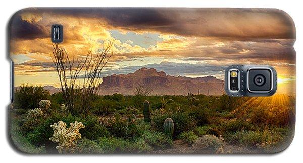 Beauty In The Desert Galaxy S5 Case