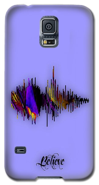 Believe Recorded Soundwave Collection Galaxy S5 Case