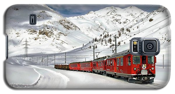 Bernina Winter Express Galaxy S5 Case