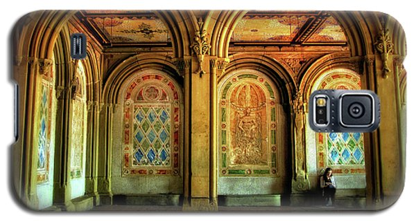 Galaxy S5 Case featuring the photograph Bethesda Terrace Arcade by Jessica Jenney