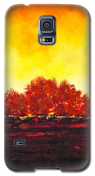 Big Red Galaxy S5 Case by William Renzulli
