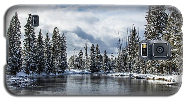 Big Springs In Winter Idaho Journey Landscape Photography By Kaylyn Franks Galaxy S5 Case
