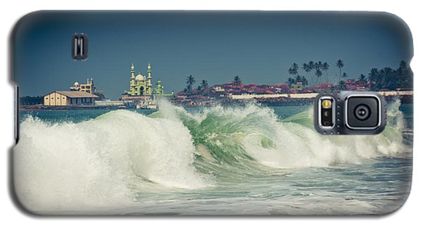 Big Wave On The Coast Of The Indian Ocean Kerala India Galaxy S5 Case