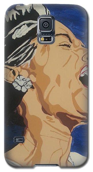 Billie Holiday Galaxy S5 Case by Rachel Natalie Rawlins