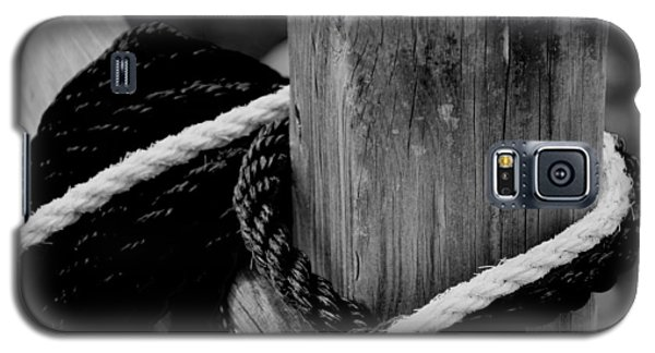 Galaxy S5 Case featuring the photograph Black And White by Corinne Rhode