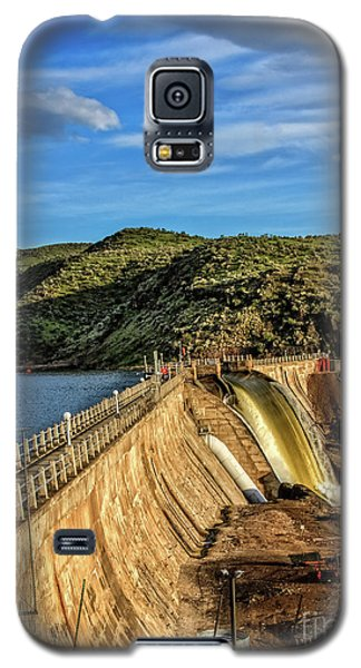 Galaxy S5 Case featuring the photograph Black Canyon Dam by Robert Bales