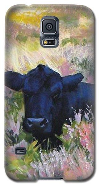 Black Cow Dartmoor Galaxy S5 Case