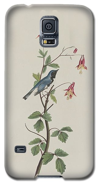 Black-throated Blue Warbler Galaxy S5 Case