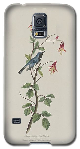 Black-throated Blue Warbler Galaxy S5 Case by Anton Oreshkin