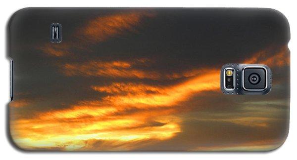 Blazing Carolina Sunset Galaxy S5 Case