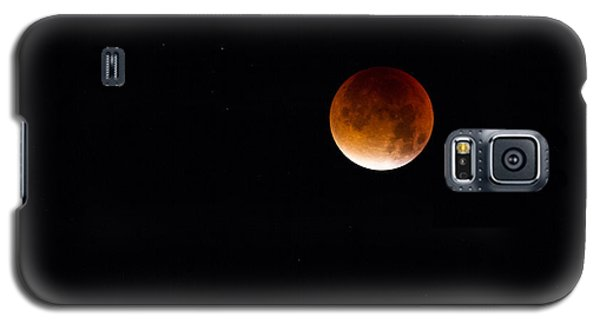 Blood Moon Super Moon 2015 Galaxy S5 Case by Clare Bambers