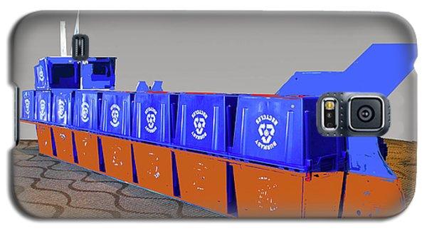 Blue Box Oil Tanker Galaxy S5 Case