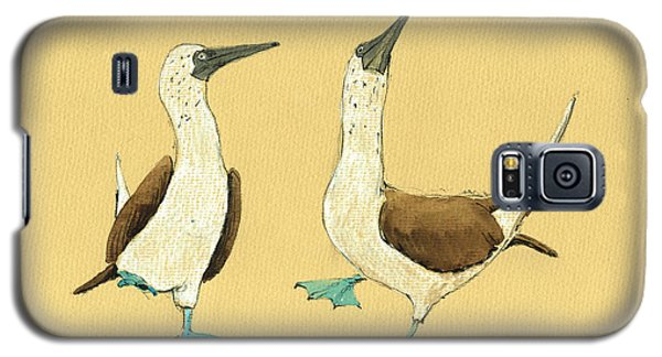 Blue Footed Boobies Galaxy S5 Case by Juan  Bosco