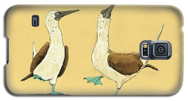 Blue Footed Boobies Galaxy S5 Case