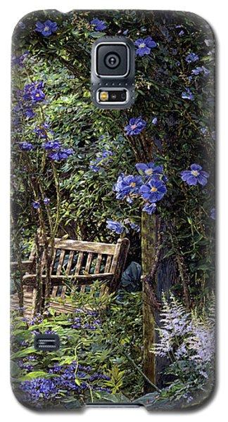 Blue Garden Respite Galaxy S5 Case