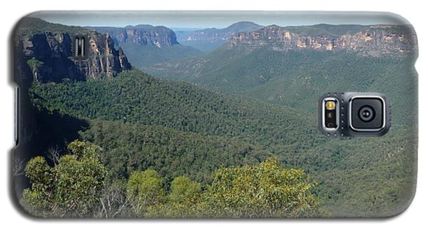 Blue Mountains Galaxy S5 Case by Carla Parris
