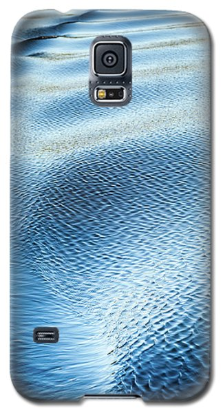Blue On Blue Galaxy S5 Case by Karen Wiles
