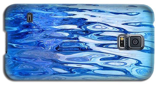 Blue Galaxy S5 Case by Sylvie Leandre