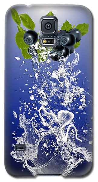Blueberry Splash Galaxy S5 Case