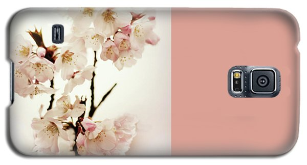 Galaxy S5 Case featuring the photograph Blushing Blossom by Jessica Jenney