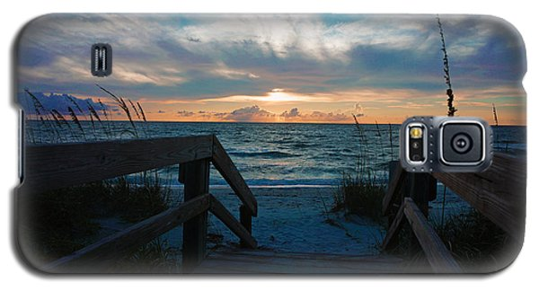 Boardwalk At Delnor-wiggins Pass State Park Galaxy S5 Case by Robb Stan