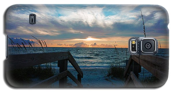 Boardwalk At Delnor-wiggins Pass State Park Galaxy S5 Case