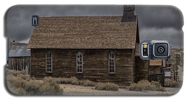 Galaxy S5 Case featuring the photograph Stormy Day In Bodie State Historic Park by Sandra Bronstein