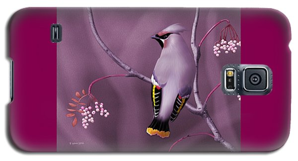 Bohemian Waxwing Galaxy S5 Case by John Wills