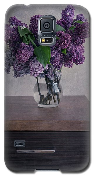 Galaxy S5 Case featuring the photograph Bouquet Of Fresh Lilacs by Jaroslaw Blaminsky