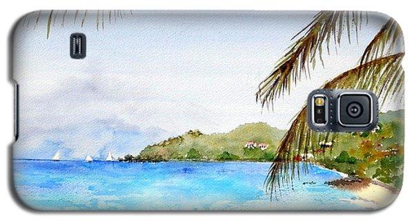 Brewers Bay Beach Galaxy S5 Case
