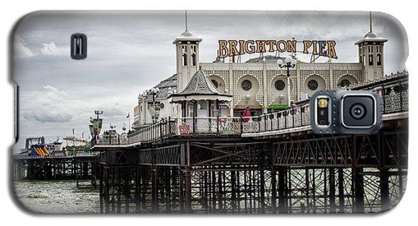 City Sunset Galaxy S5 Case - Brighton Pier by Martin Newman