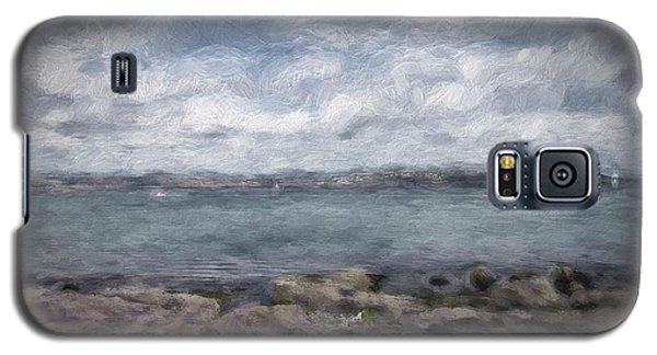 Galaxy S5 Case featuring the photograph Brixham Harbour by Patricia Hofmeester