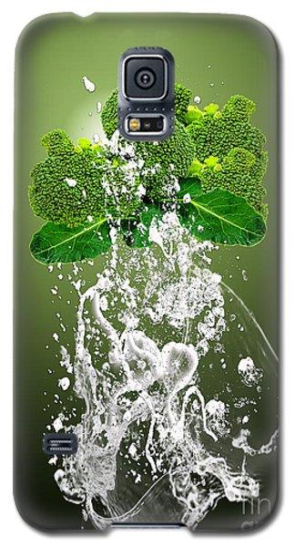 Broccoli Splash Galaxy S5 Case