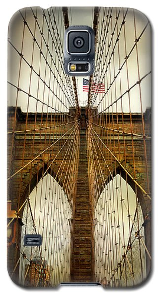 Brooklyn Bridge Twilight Galaxy S5 Case by Jessica Jenney