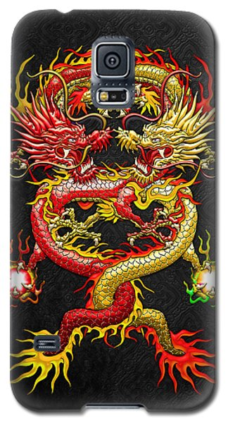 Brotherhood Of The Snake - The Red And The Yellow Dragons Galaxy S5 Case
