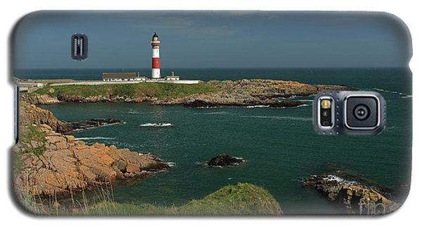 Buchan Ness Lighthouse And The North Sea Galaxy S5 Case