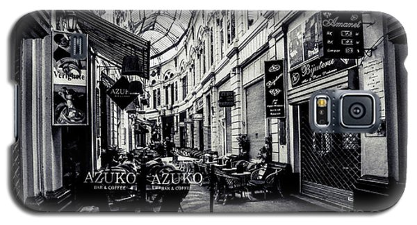 Monochrome Bucharest  Macca - Vilacrosse Passage Galaxy S5 Case