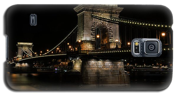 Galaxy S5 Case featuring the photograph Budapest At Night. by Jaroslaw Blaminsky